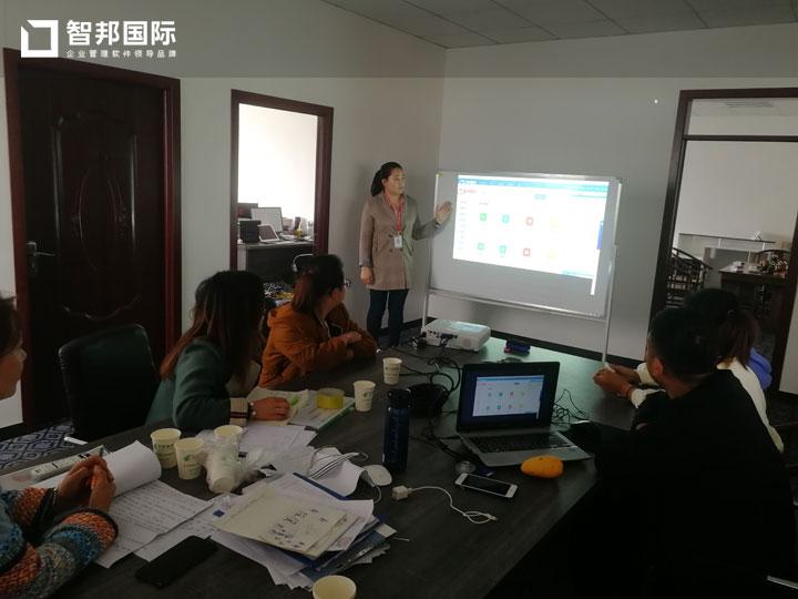 山东曹县文礼家居有限公司智邦国际ERP系统实施现场