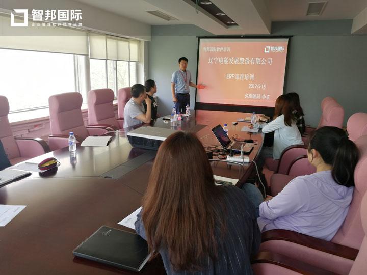 遼寧電能發展股份有限公司智邦國際ERP系統實施現場